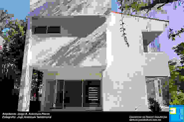 TERRAZA Balcones y terrazas modernos de Excelencia en Diseño Moderno Ladrillos