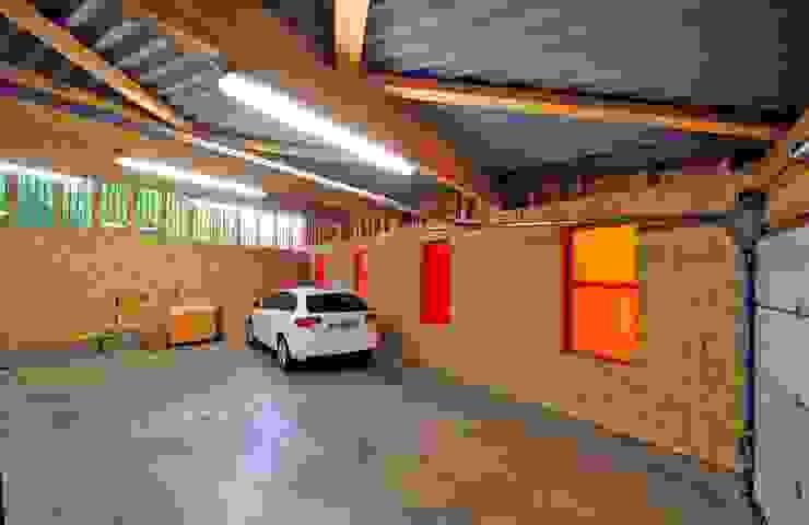 Modern garage/shed by Atelier Presle Modern Wood Wood effect