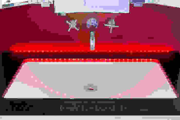 Baños de estilo moderno de Pamela Kilcoyne - Homify Moderno