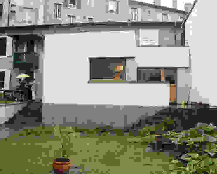 EXTENSION MAISON L Maisons modernes par Atelier Presle Moderne