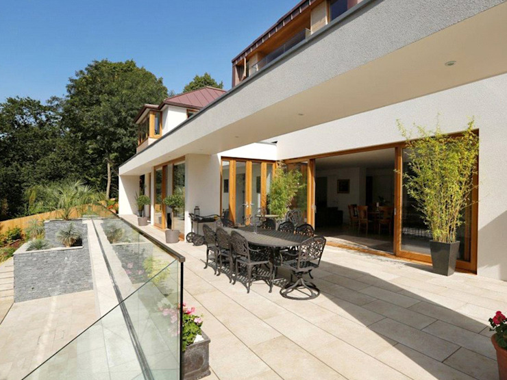 New Build 6 Bedroom House in Wimbledon di Andrew Harper Architects