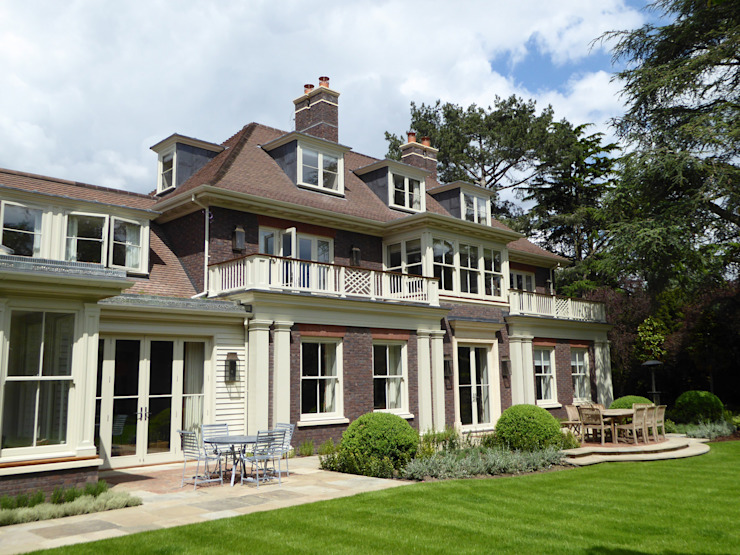 New Build Traditional Family Home in Kingston Upon Thames Oleh Andrew Harper Architects