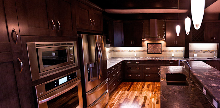 Kitchen Modern kitchen by Drafting Your Design Modern Wood Wood effect