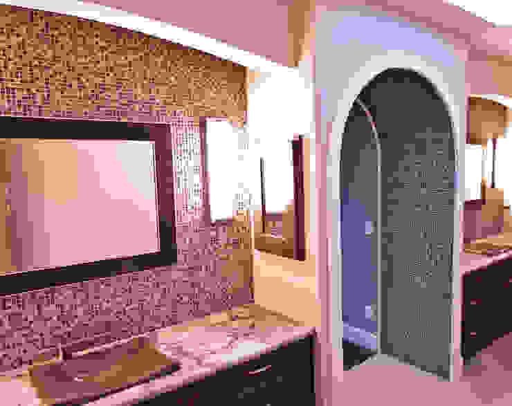 Master Ensuite Modern bathroom by Drafting Your Design Modern Granite