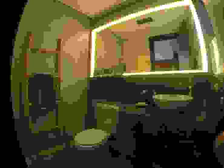 Baños de estilo rústico de HM2 arquitetura criativa Rústico