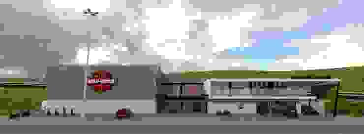 H-D 03 Casas modernas de Taro Arquitectos Moderno
