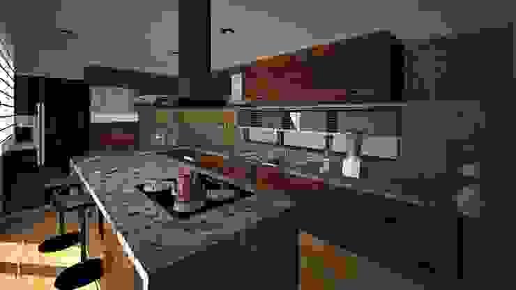 Cocina CLEBE Cocinas modernas de Taro Arquitectos Moderno