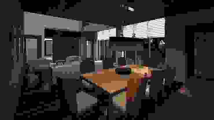 Interior CLEBE Comedores modernos de Taro Arquitectos Moderno