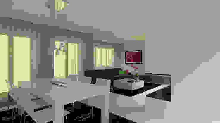 Apartamento Leiria Salas de estar modernas por OFICINA - COLECTIVO DE IDEIAS, LDA Moderno
