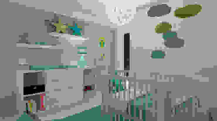 غرفة الاطفال تنفيذ OFICINA - COLECTIVO DE IDEIAS, LDA,