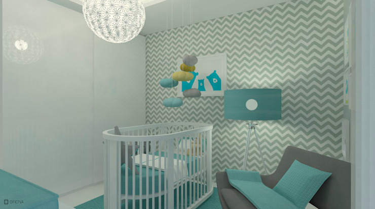 Nursery/kid's room by OFICINA - COLECTIVO DE IDEIAS, LDA