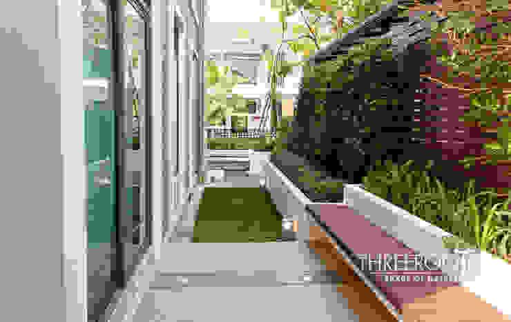 สวนบ้านคุณเอ โดย Threeroots Group Co.,Ltd.