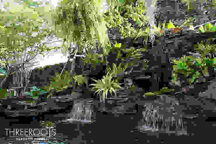 สวนบ้านคุณหนุ่ม โดย Threeroots Group Co.,Ltd.
