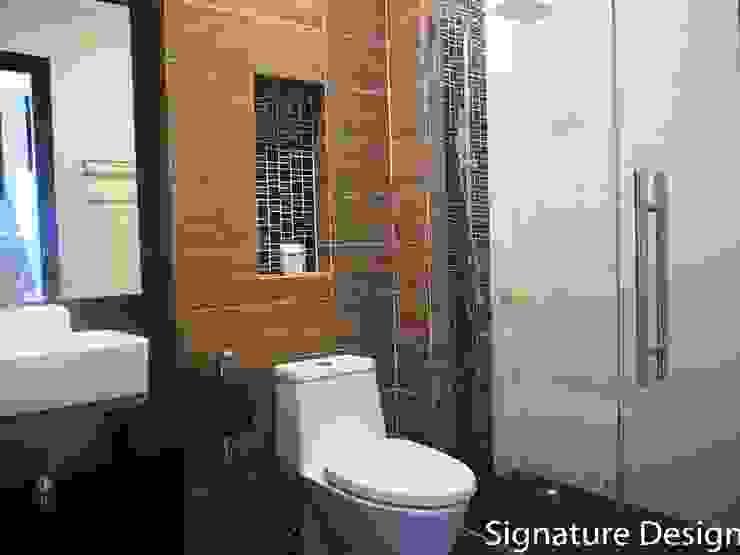 ห้องน้ำ โดย SignatureDesign ผสมผสาน ไม้ Wood effect
