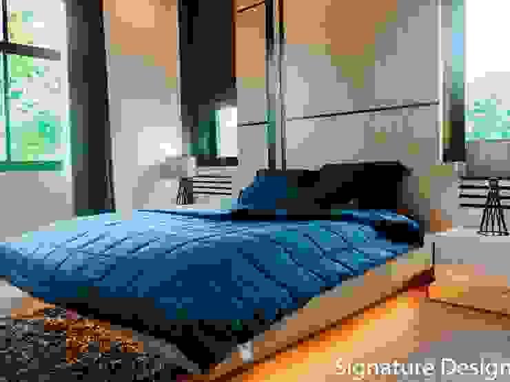 ห้องนอน โดย SignatureDesign ผสมผสาน แผ่น MDF