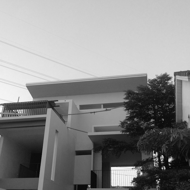 บ้านคุณนวรัตน์ เเสงสว่าง โดย archspiritgroup.co.,ltd
