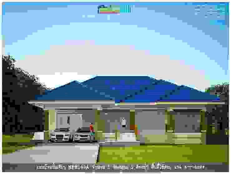 แบบบ้านชั้นเดียว HPM140A โดย แบบแปลนบ้านสำเร็จรูป
