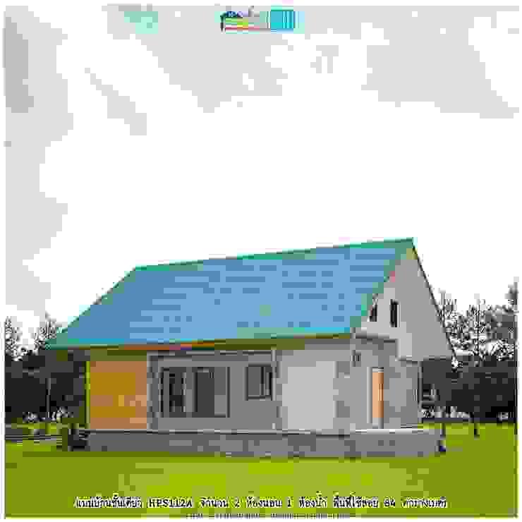 แบบบ้านชั้นเดียว HPS112A โดย แบบแปลนบ้านสำเร็จรูป