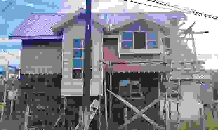 REVESTIMIENTOS 3 Casas de estilo rural de GerSS Arquitectos Rural