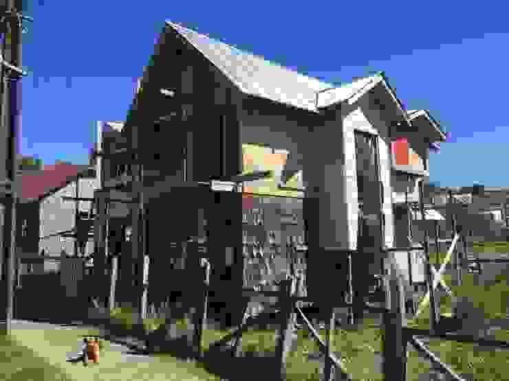 REVESTIMIENTOS 1 Casas de estilo rural de GerSS Arquitectos Rural
