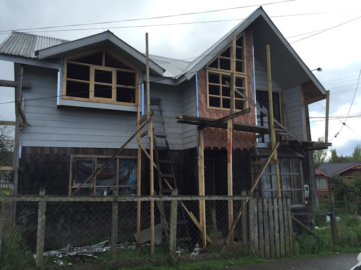 REVESTIMIENTOS 2 Casas de estilo rural de GerSS Arquitectos Rural