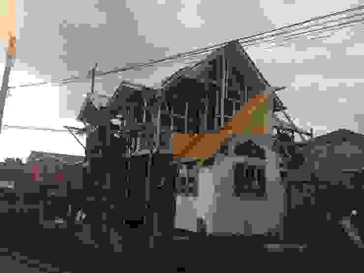 CONSTRUCCIÓN 1 Casas de estilo rural de GerSS Arquitectos Rural
