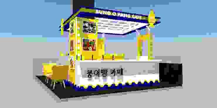 ตกแต่งร้าน Bung O Pang Cafe' @ Central Festival Hatyai โดย Station Q