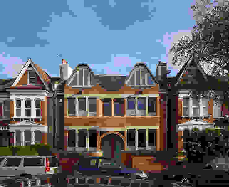 London Brownstones:  Houses by Knox Bhavan Architects ,
