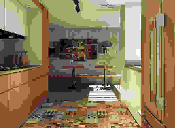 CASA IROTAMA Cocinas modernas de Cabas/Garzon Arquitectos Moderno