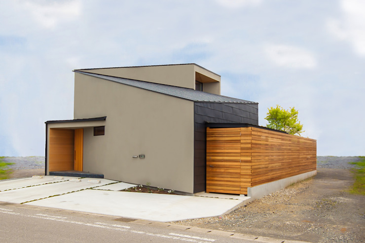 Modern houses by STaD(株式会社鈴木貴博建築設計事務所) Modern