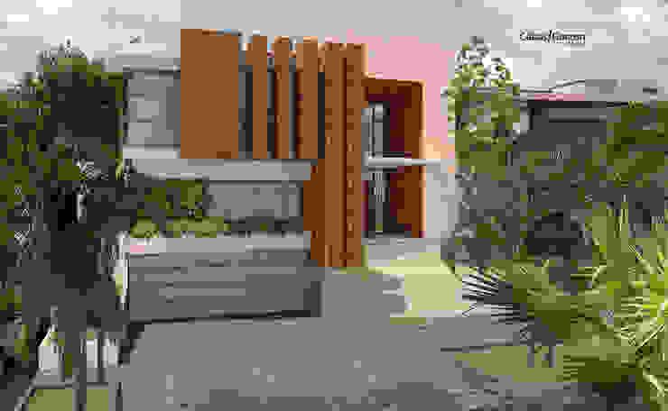 CASA T C: Casas de estilo  por Cabas/Garzon Arquitectos, Moderno