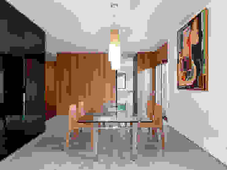Villa Carber Buratti Architetti Soggiorno minimalista
