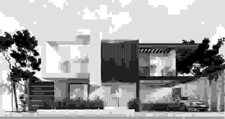 Casas de estilo  por Besana Studio, Minimalista