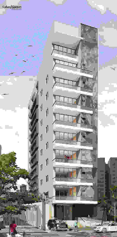 EDIFICIO MIURA Casas modernas de Cabas/Garzon Arquitectos Moderno
