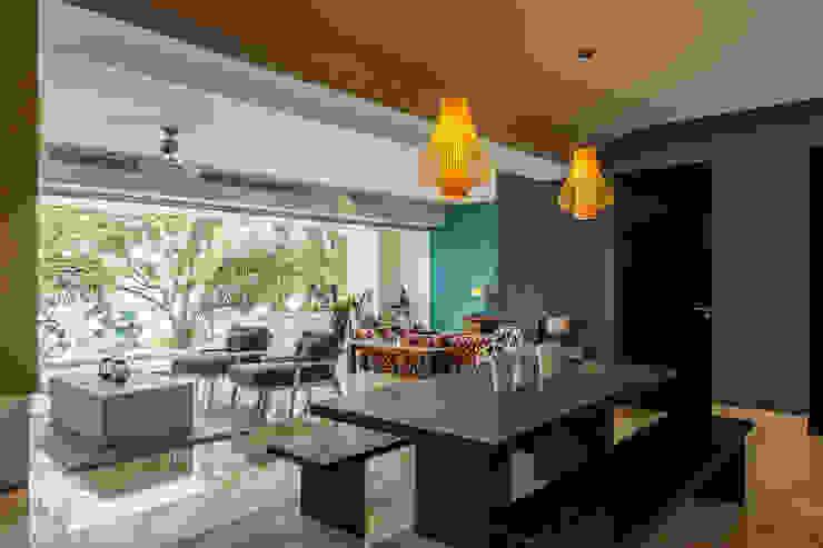 AVALON: Comedores de estilo  por MORADA CUATRO, Moderno