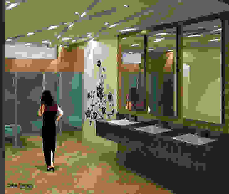 Nowoczesna łazienka od Cabas/Garzon Arquitectos Nowoczesny
