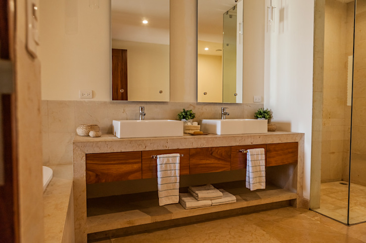 Bathroom by MORADA CUATRO, Modern
