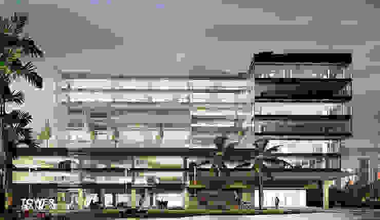 Cabas/Garzon Arquitectosが手掛けた現代の, モダン