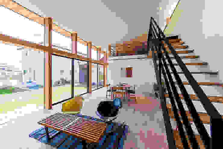 Moderne Wohnzimmer von STaD(株式会社鈴木貴博建築設計事務所) Modern