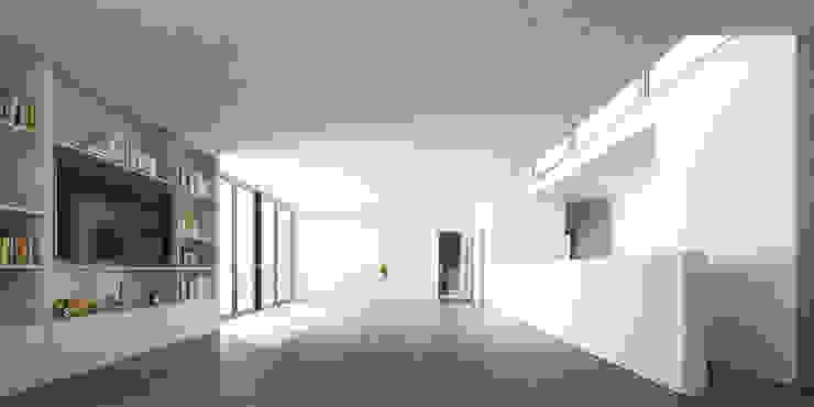 Salle à manger minimaliste par 1.61 Arquitectos Minimaliste