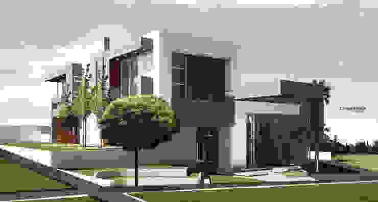 VIVIENDA CAUJARAL – M G de Cabas/Garzon Arquitectos Moderno