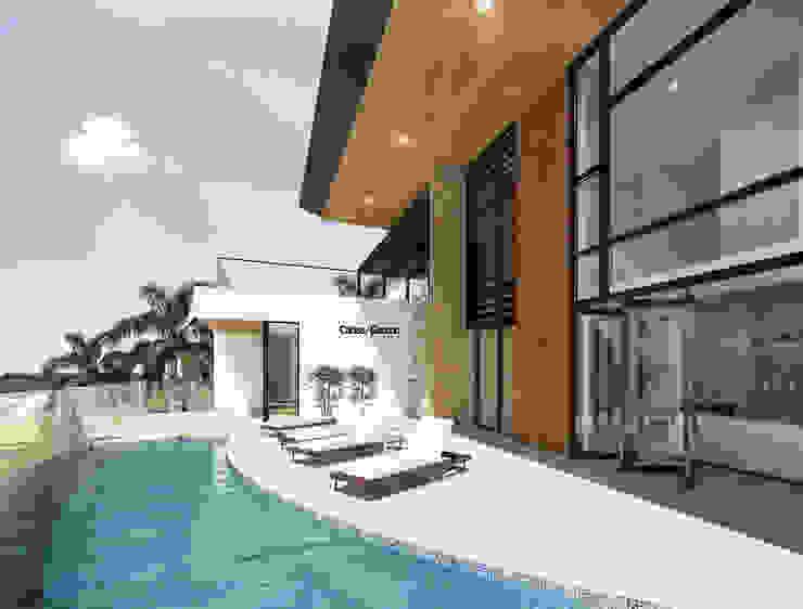 modern  by Cabas/Garzon Arquitectos, Modern
