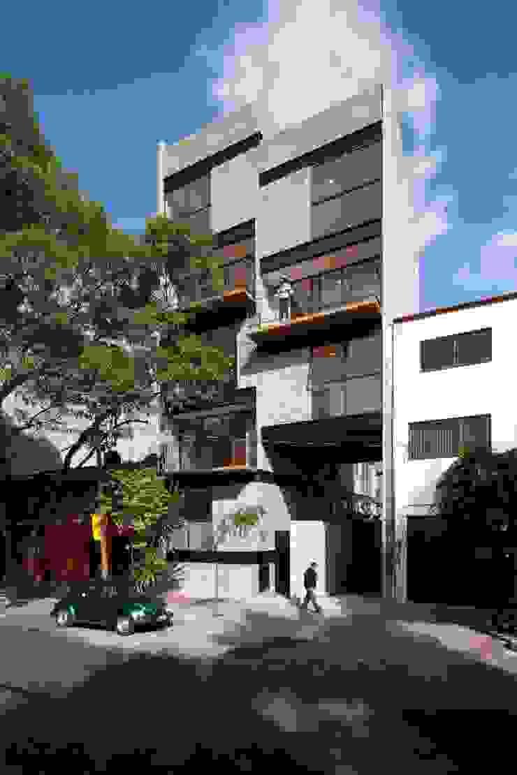 Fachada Principal Casas modernas de Wolff Arquitectura Moderno Ladrillos