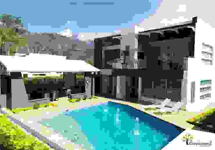 Condominio Guayacanes 2 Casas modernas de O11ceStudio Moderno