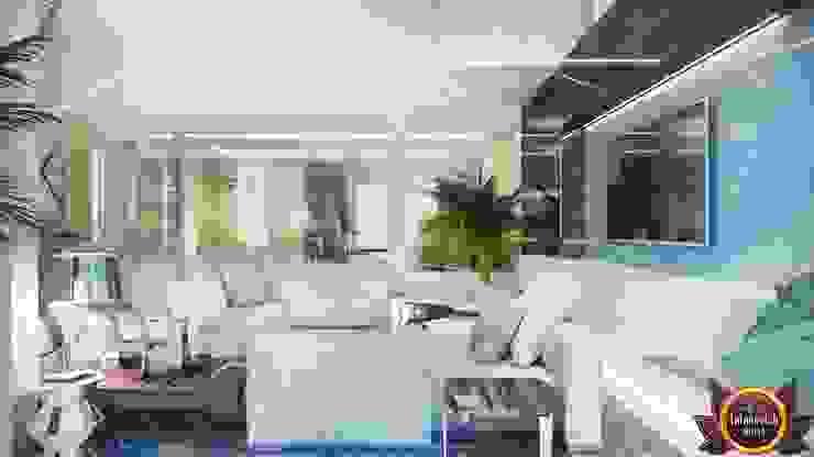 Fashion trends in interior of Katrina Antonovich Modern living room by Luxury Antonovich Design Modern