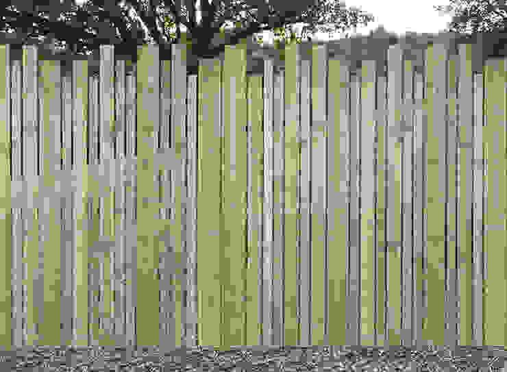 Сад в стиле модерн от Braun & Würfele - Holz im Garten Модерн Дерево Эффект древесины