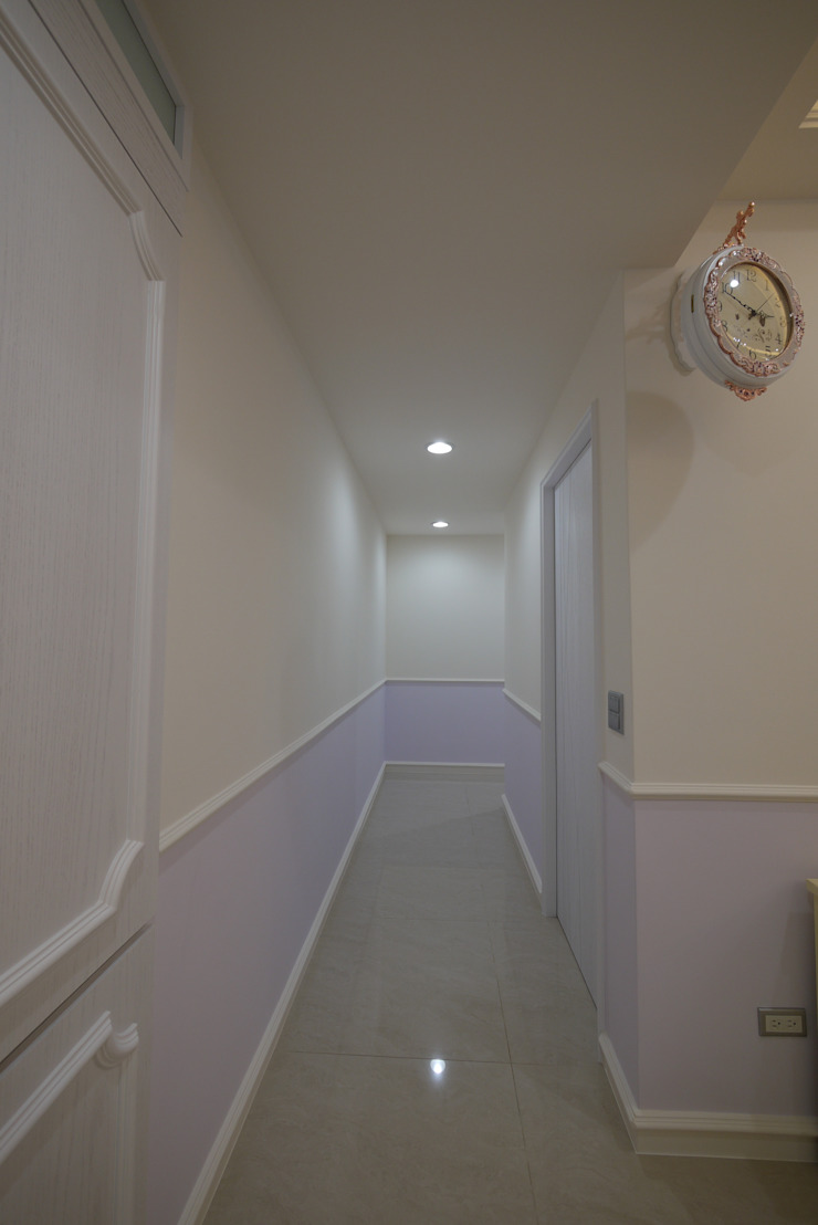 跳TONE – 三義木雕街 – 舊屋翻新 乡村风格的走廊,走廊和楼梯 根據 喜家成室內裝修設計有限公司(原:高筌室內設計) 鄉村風