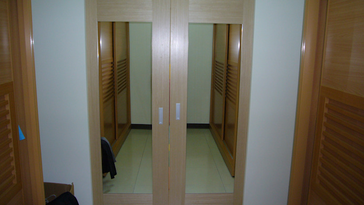 初啼 – 台南麻豆 -新成屋 喜家成室內裝修設計有限公司(原:高筌室內設計) 更衣室