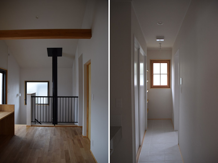 Puertas y ventanas modernas de さくま建築設計事務所 Moderno