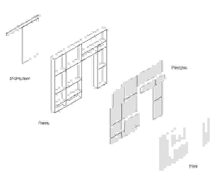 Xtra Room Scandinavische slaapkamers van Atelier ARI Scandinavisch Hout Hout